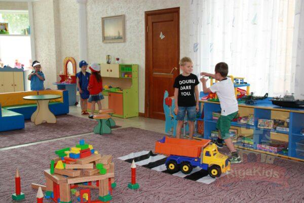 игровая зона детского садика