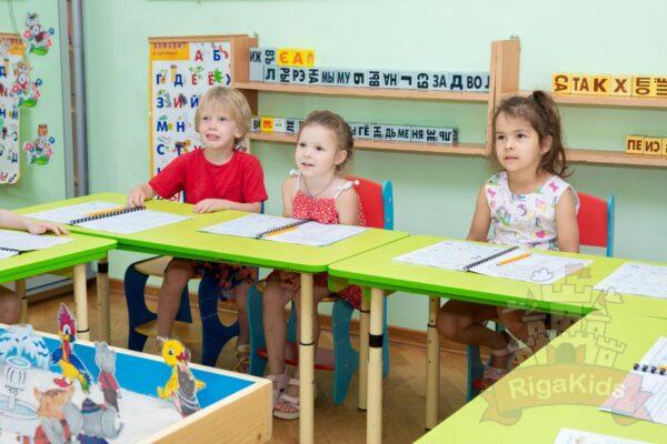 Обучение в садике Рига Кидс фото