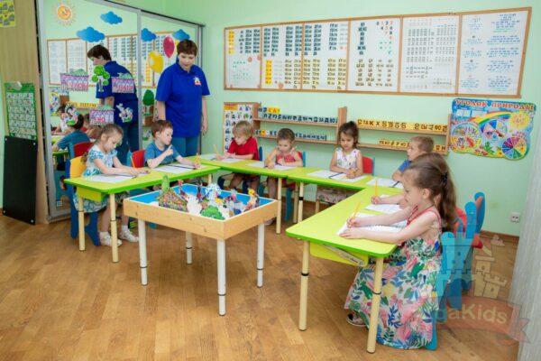 Обучение в садике Рига Кидс