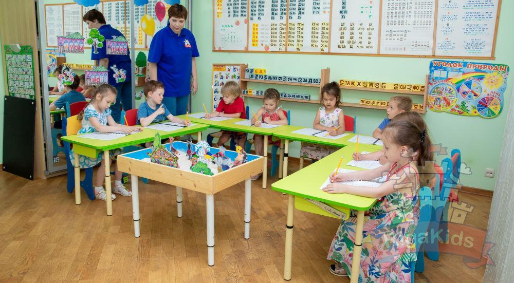 Обучение в билингвальном детском саду