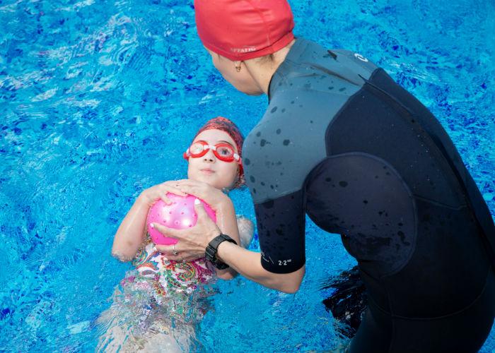 Обучение плавать