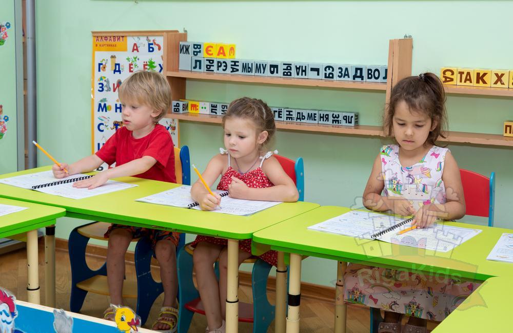 Дети обучаются арифметике