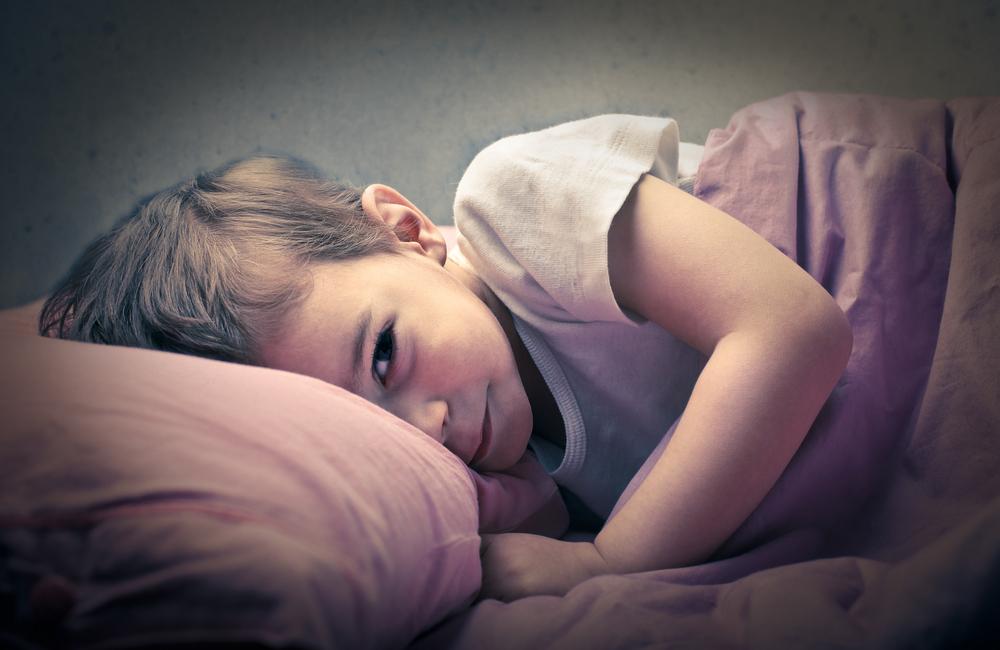 Ребенок не может уснуть вечером