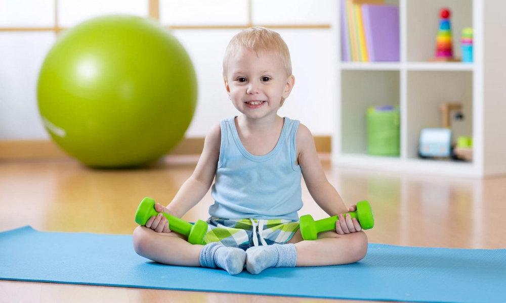 Детский фитнес, фото