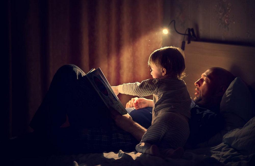 Общение со своим ребенком перед сном