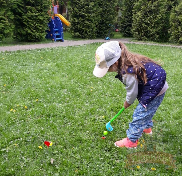 Любят гольф
