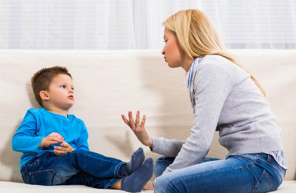Общайтесь с ребенком