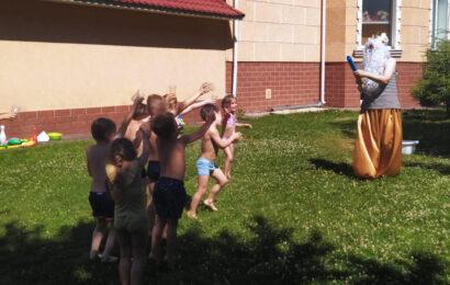 Детский праздник, день Нептуна фото