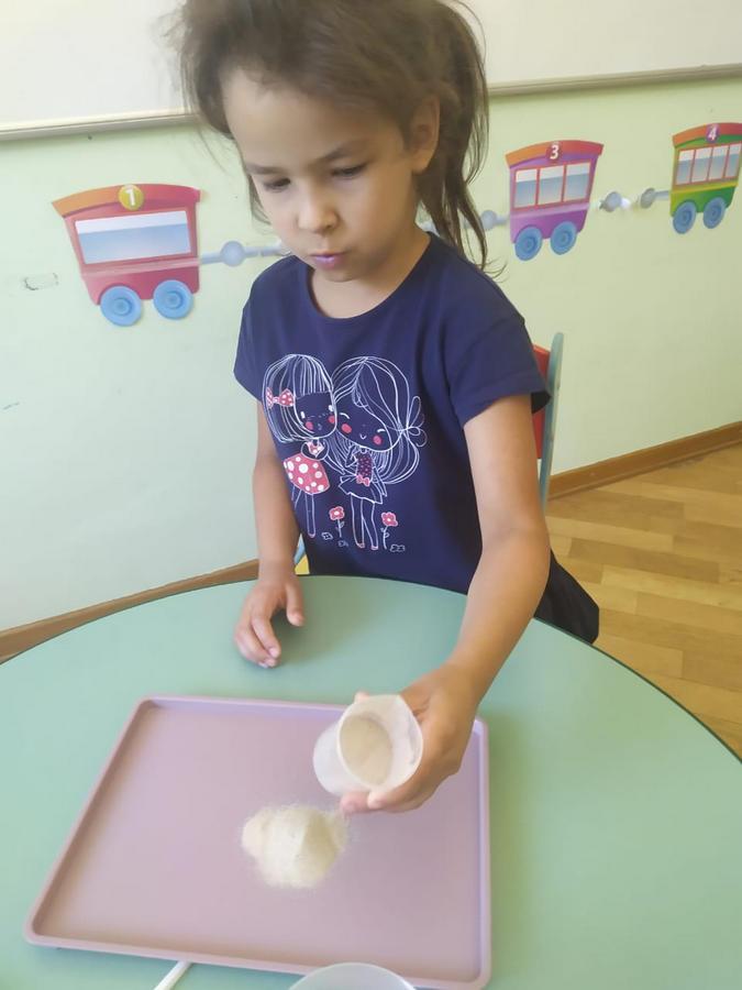 Опыты с песком в детском саду