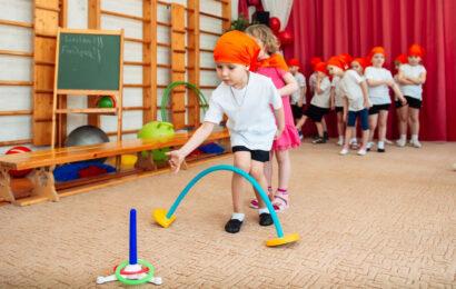 Веселые старты в детском саду