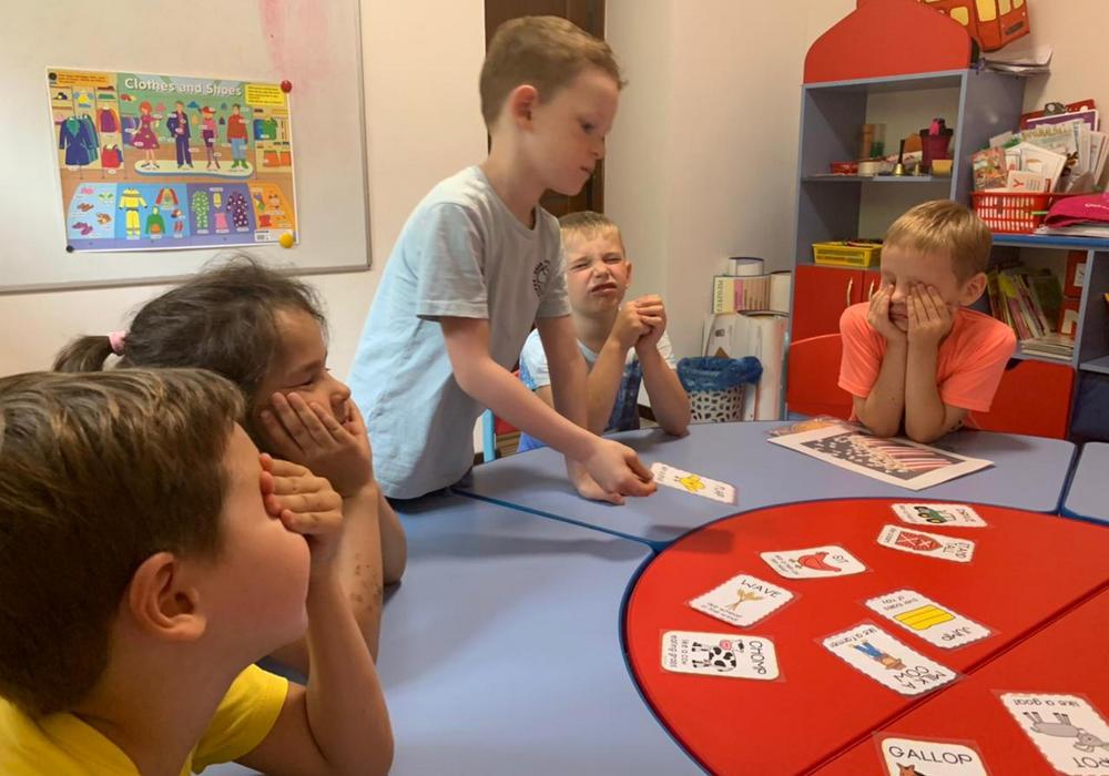 Дети билингвы в детском саду